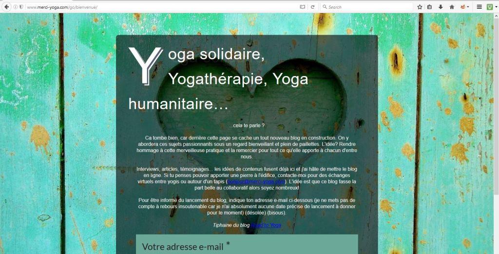 Lien vers le blog Merci Yoga